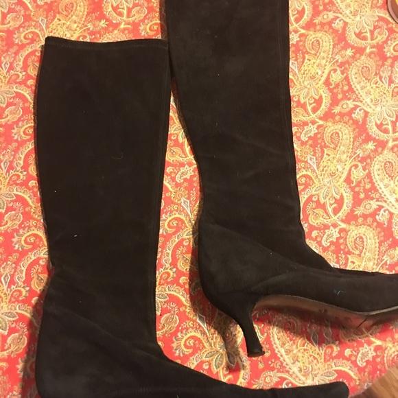Stuart Weitzman Kitten Heel Boots